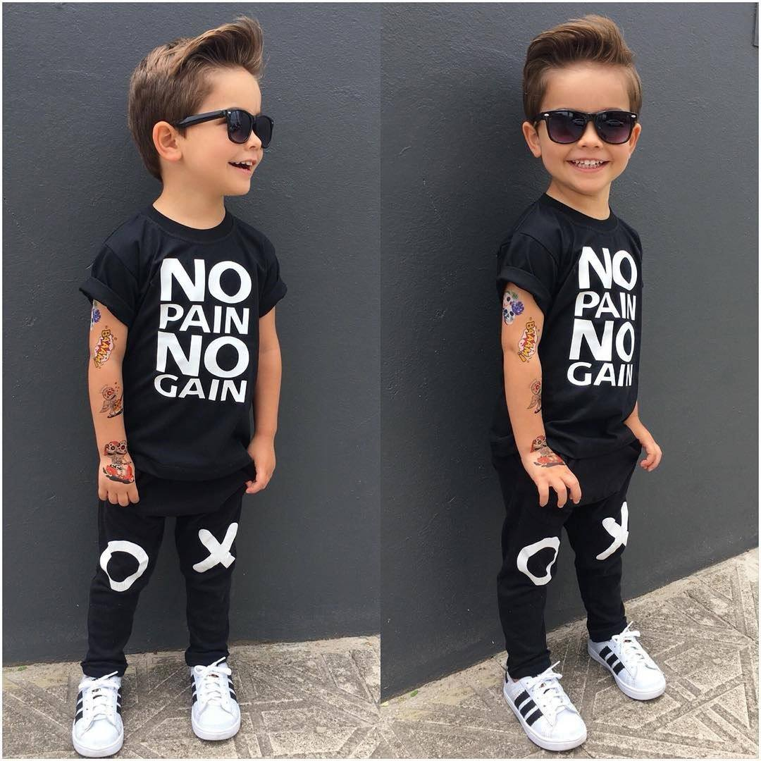 No Pain No Gain Set - The Trendy Toddlers