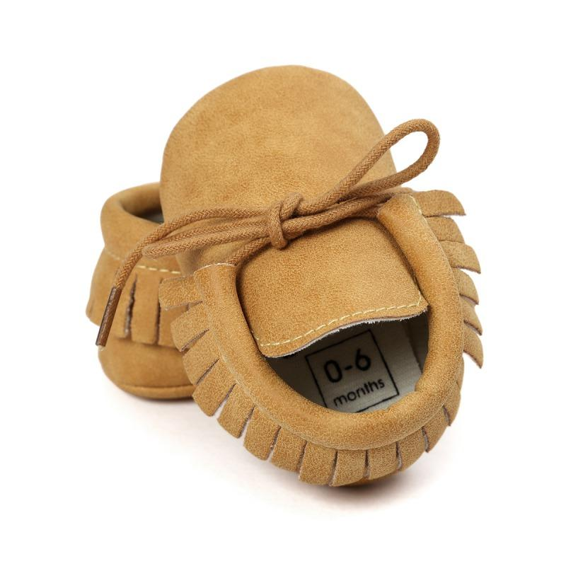 Princess Leather Moccasins - The Trendy Toddlers