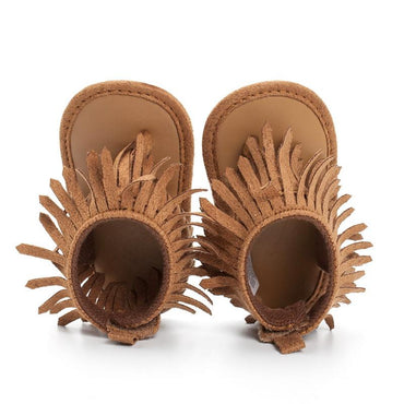 Soft Tassel Sandals - The Trendy Toddlers