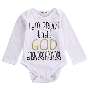 Prayers Bodysuit - The Trendy Toddlers