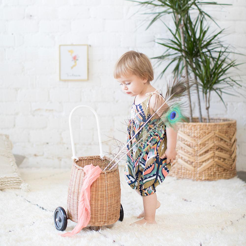 Sleeveless Boho Romper - The Trendy Toddlers