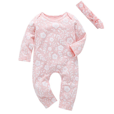 Pretty Pink Jumpsuit - The Trendy Toddlers