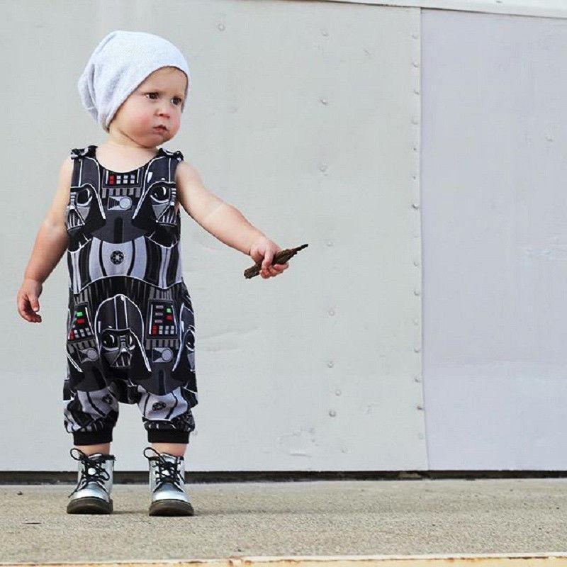 Darth Vader Jumpsuit - The Trendy Toddlers