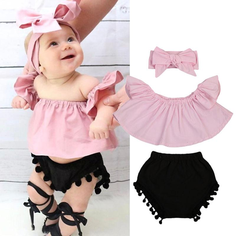 Tassel Bloomers Set - The Trendy Toddlers