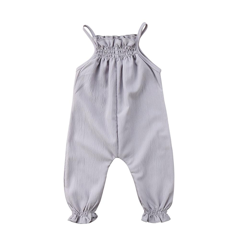 Strap Sleeveless Jumpsuit - The Trendy Toddlers