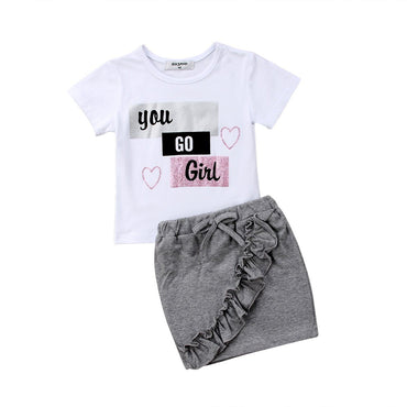 You Go Girl Set - The Trendy Toddlers