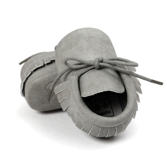 Leather Moccasins - The Trendy Toddlers
