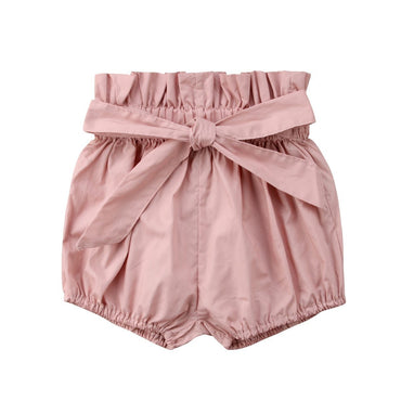 Tie Bloomer Shorts - The Trendy Toddlers