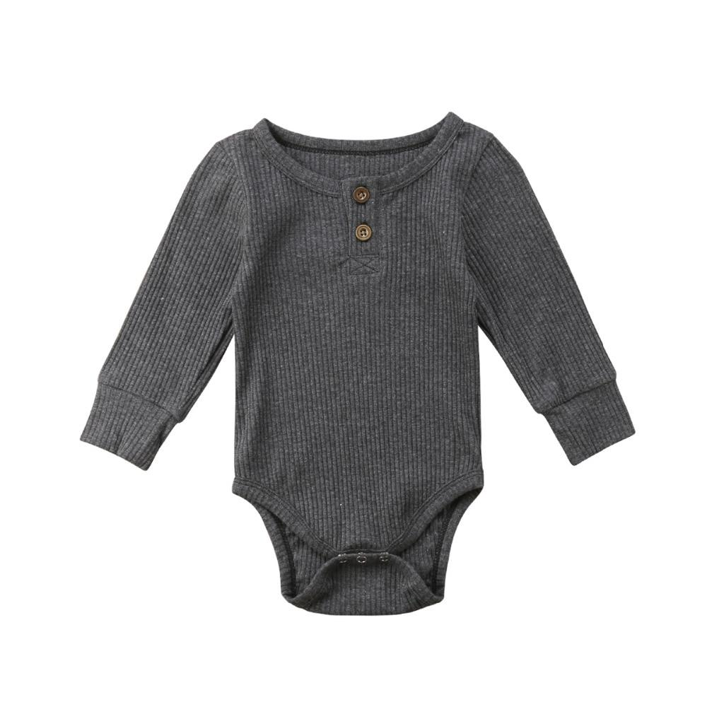 Basic Long Sleeve Jumpsuit - The Trendy Toddlers
