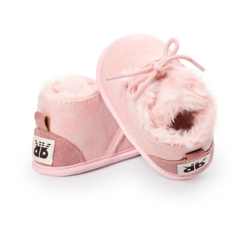 Warm Faux Fur Boots - The Trendy Toddlers
