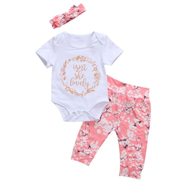 Lovely Floral Set - The Trendy Toddlers