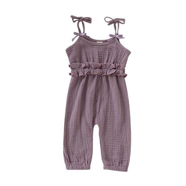 Spaghetti Straps Jumpsuit - The Trendy Toddlers