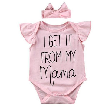 My Mama Bodysuit - The Trendy Toddlers