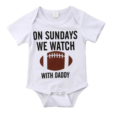 Sunday Football Bodysuit - The Trendy Toddlers