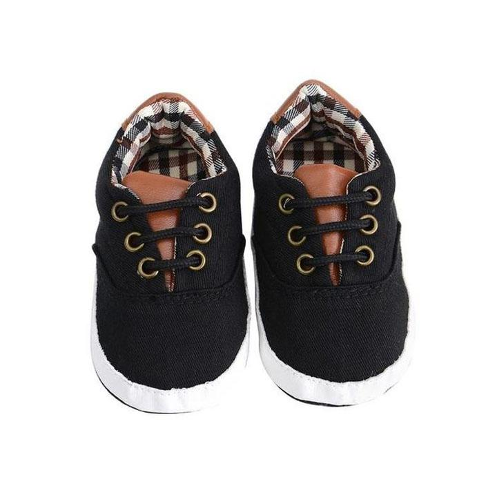Plaid Boys Shoes - The Trendy Toddlers