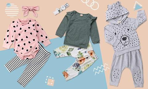 baby girl outfit sets