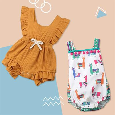 fccbd7aa7a56 Cute Baby Girl Rompers 3M - 2T