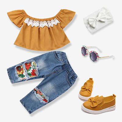 Toddler Girl Outfit Shop