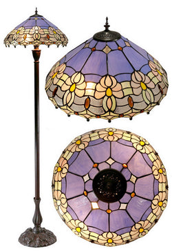 "18"" Waratah Tiffany Floor Lamp"