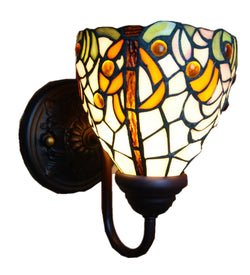 Floral Tiffany Wall lights wall Sconce