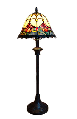 Rare Colonial Tulip Style Tiffany Buffet Lamp