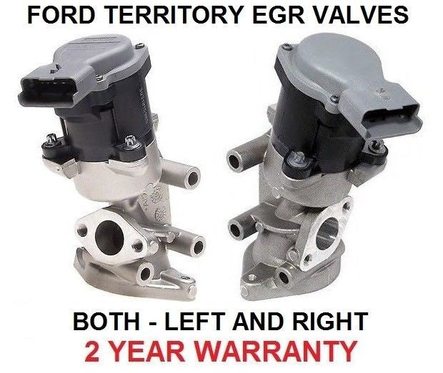 EGR VALVE for FORD TERRITORY TDCI EXHAUST GAS SZ 2.7 TURBO DIESEL LEFT + RIGHT S