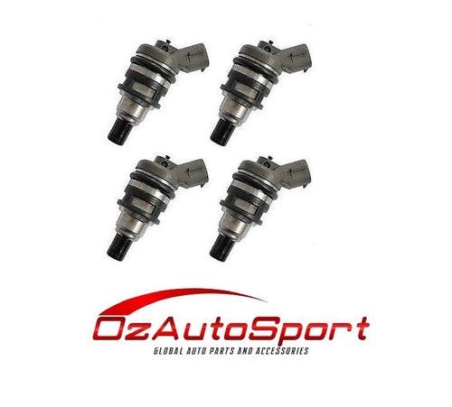 4 FUEL INJECTORS for SUBARU IMPREZA WRX GC8 2.0L TURBO SIDE FEED INJECTOR 0R05