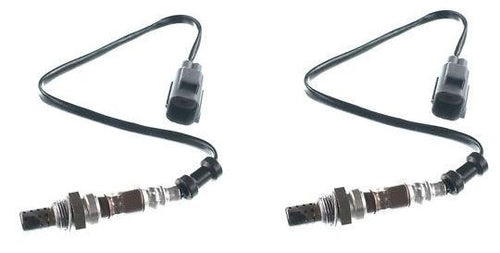 2 x Oxygen O2 sensor for Land Rover Discovery Series 3 4.0 4.4 Post-Cat (Rear Pair)