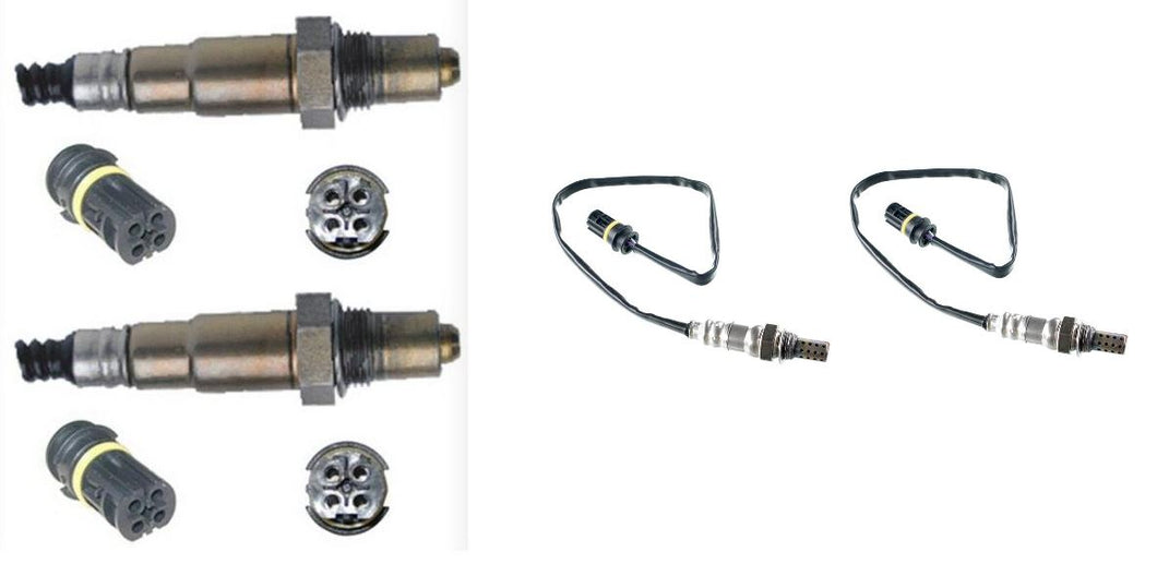 4 x o2 Oxygen Sensors suits Mercedes Benz R500 W251 5.0 Vehicle Kit