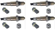 4 x o2 Oxygen Sensors suits Mercedes Benz SLK55 AMG R171 Vehicle Kit