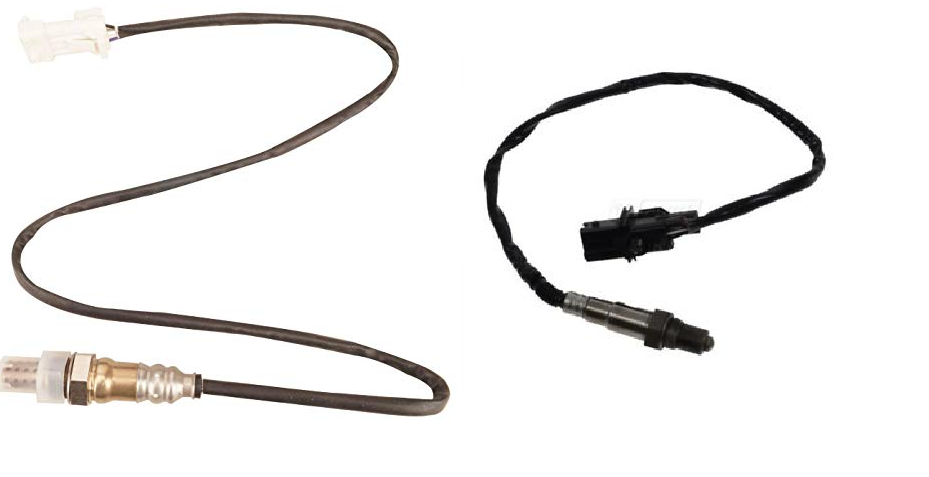 Front & Rear OXYGEN SENSOR O2 for FORD Kuga TE 2.5 Turbo 5 WIRES - Vehicle Set