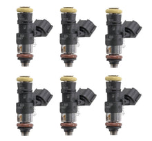6 x 2000cc 2200cc for Fuel Injectors Short 210lb Top Feed 14mm with clips Bosch