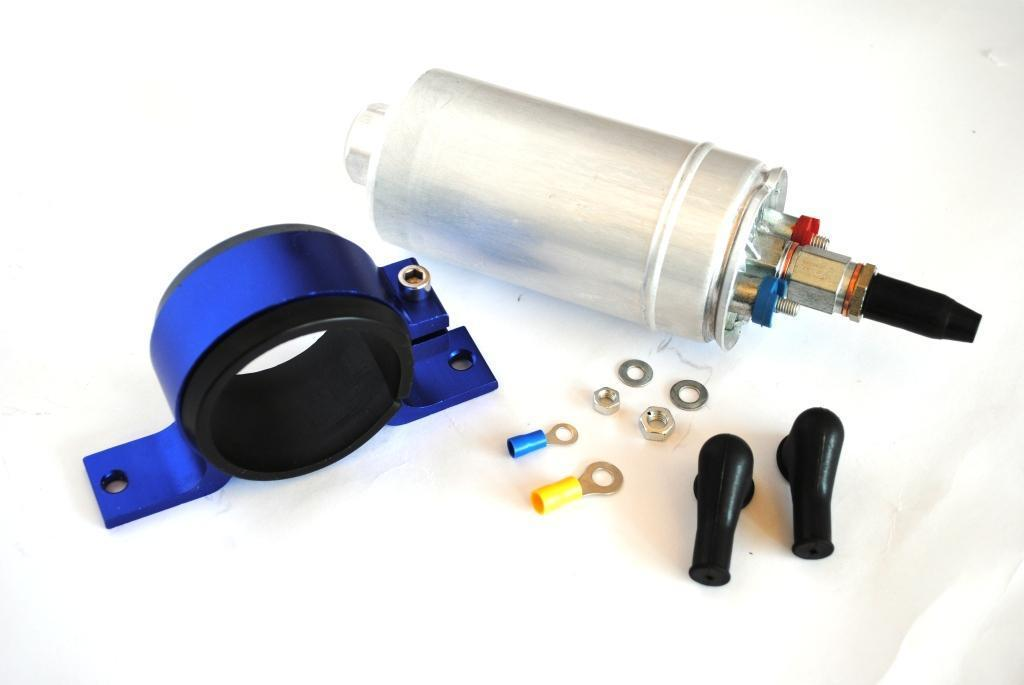 300lph INLINE EXTERNAL PERFORMANCE EFI FUEL PUMP External 044 + Bracket