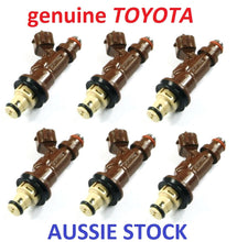 6 x FUEL INJECTORS for TOYOTA CAMRY VIENTA LEXUS ES300 HOLDEN APOLLO 3VZFE 3.0L