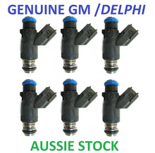6x Genuine Delphi Fuel Injectors for Ford BA BF XR6 turbo 440cc 520cc 42lb 50lb