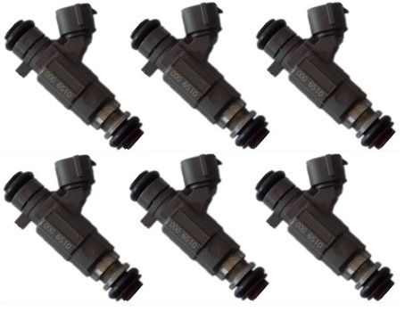 GENUINE OEM FUEL INJECTOR SET for HOLDEN RODEO RA 3.5L 2003 > 2005
