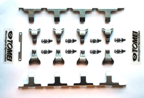 HYDRAULIC LIFTER HLA, ROCKER ARMS & TOMEI STOPPER KIT For Nissan SR20DET