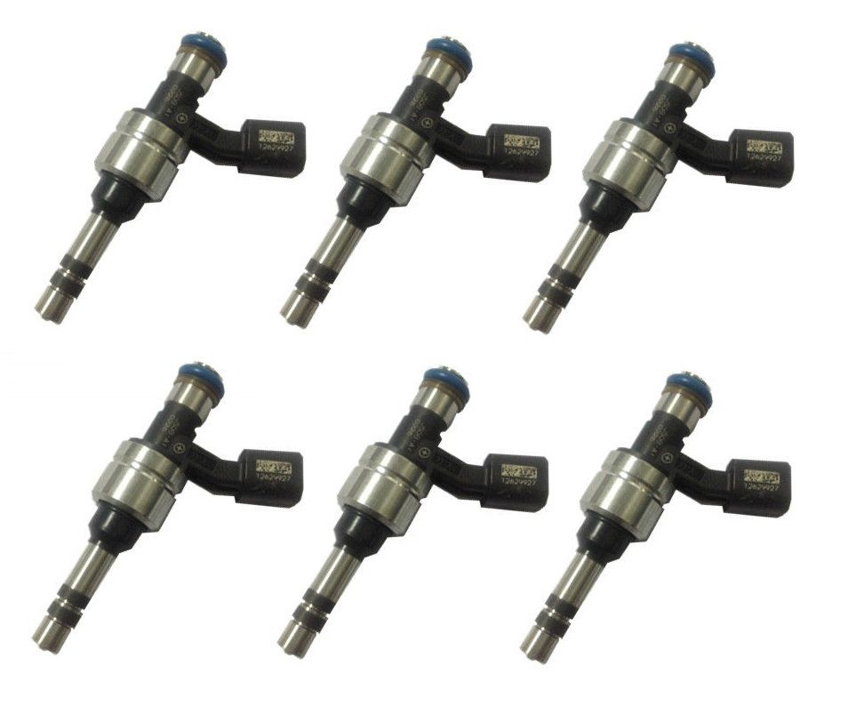 6 FUEL INJECTORS for HOLDEN COMMODORE VE VF LFW LFX 6CYL 3.6 SIDI INJECTOR