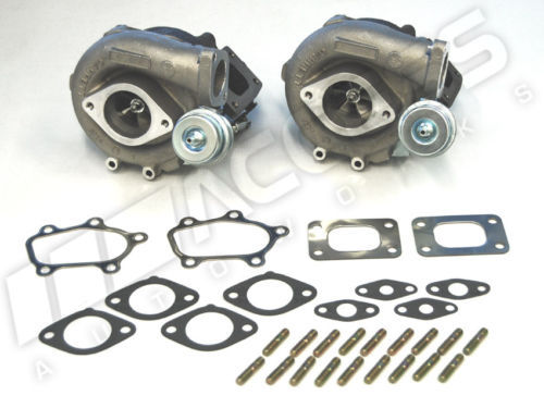 GT2860R-5 Turbos HKS 2530 equivalent + GASKETS for Nissan GTR R32 R33 R34 RB26