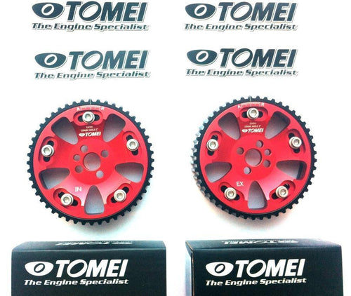 TOMEI CAM GEARS PULLEYS SET for NISSAN SKYLINE R32 R33 R34 GTR RB20DET RB26DETT