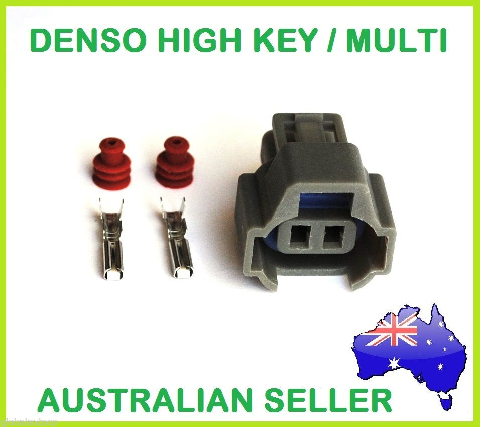 Denso Multi Fit Injector Plug - Injector Connector - EFI suit SARD etc