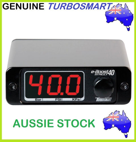 New Genuine TURBOSMART eBoost Street 40PSI e-Boost Electronic Boost Controller