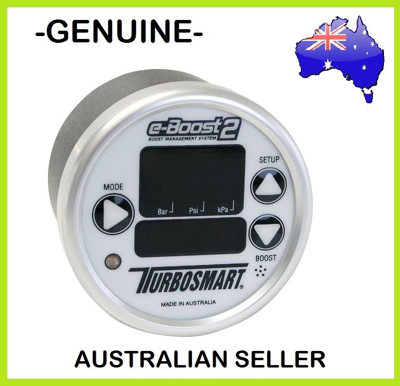 Genuine TURBOSMART 60mm e-Boost2 eBoost2 Electronic Boost Controller White