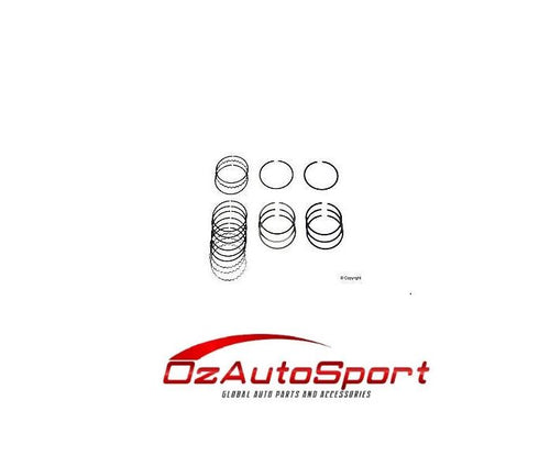 PISTON RING SET for MAZDA B6 TURBO 1.6 FAMILIA GTX GTR LASER TX3 HASTINGS CHROME