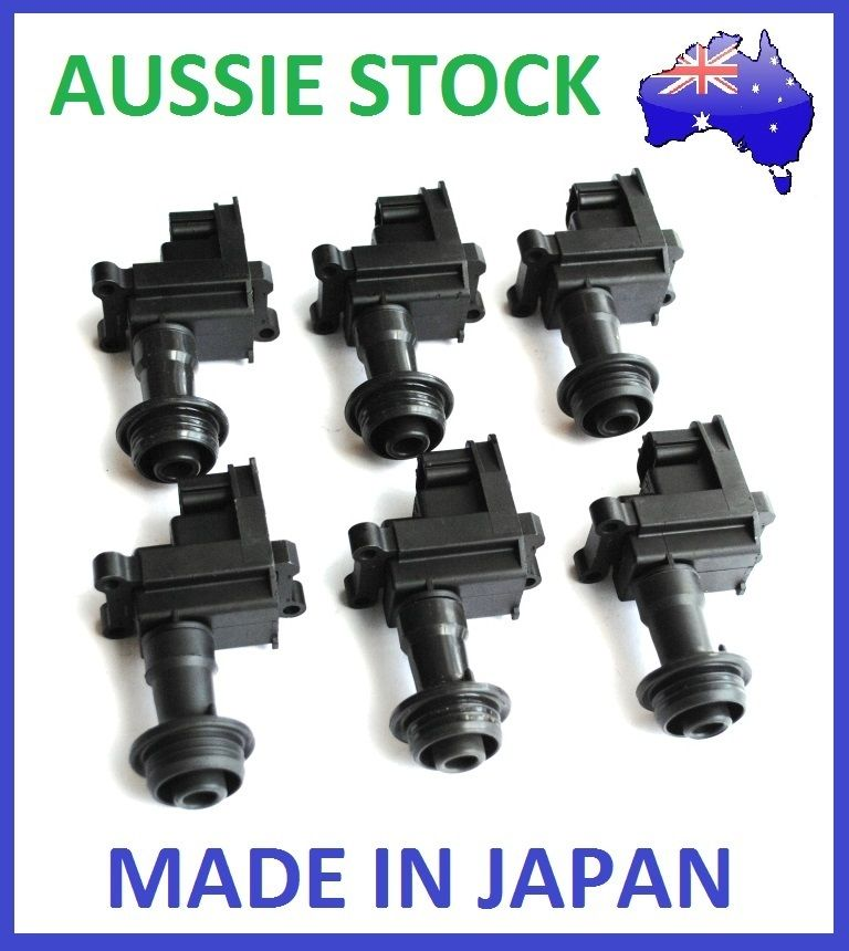 OEM IGNITION COILS COIL PACKS for NISSAN SKYLINE R33 SERIES 2 RB25DE T MCP1330