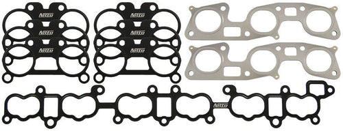 NITTO INTAKE & EXHAUST GASKET SET for NISSAN SKYLINE R32 R33 R34 GTR RB26DETT