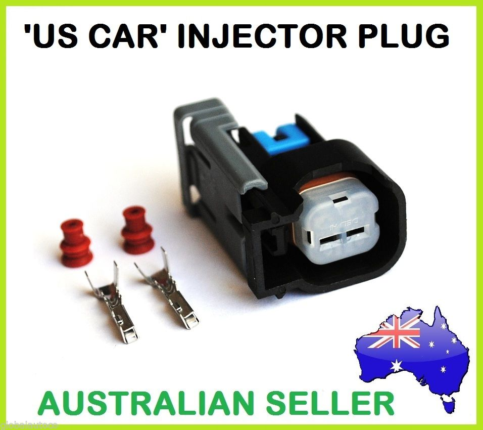 Injector Connector Plug Quick Release / Slide Lock US CAR for Bosch EV6 ~ EV14 Type