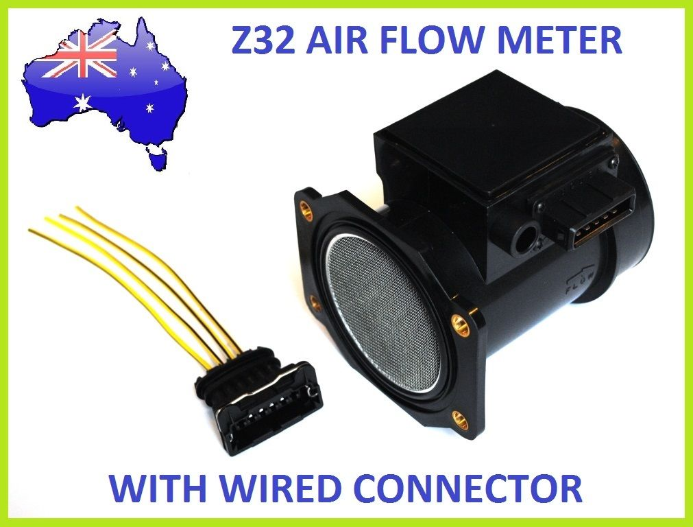 AFM MAF 22680-30P00 Tuning Air Flow Meter with Pre Wired Plug for 300zx Z32 80mm