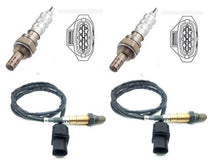 4 x o2 Sensors Full Vehicle Set for Holden Captiva 3.2 CG