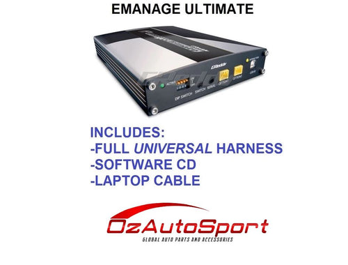 Greddy e Manage emanage Ultimate ECU for S13 S14 S15 SR20 POWER FC wire in harness